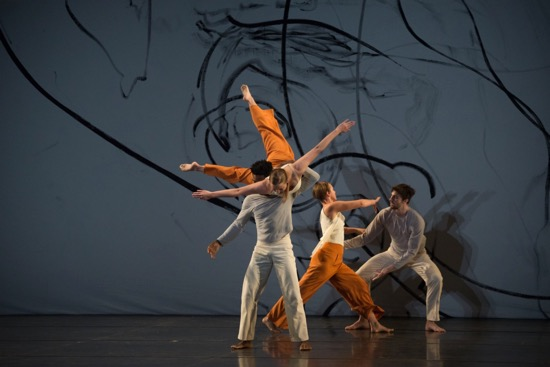 L'Amour Au Theâtre set : Trisha Brown photo;: Brooke Trisolini