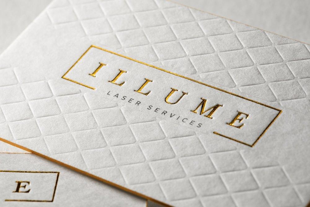 45pt soft & textured cotton - Letterpress Cards