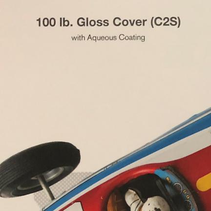 100 LB - Gloss Cover