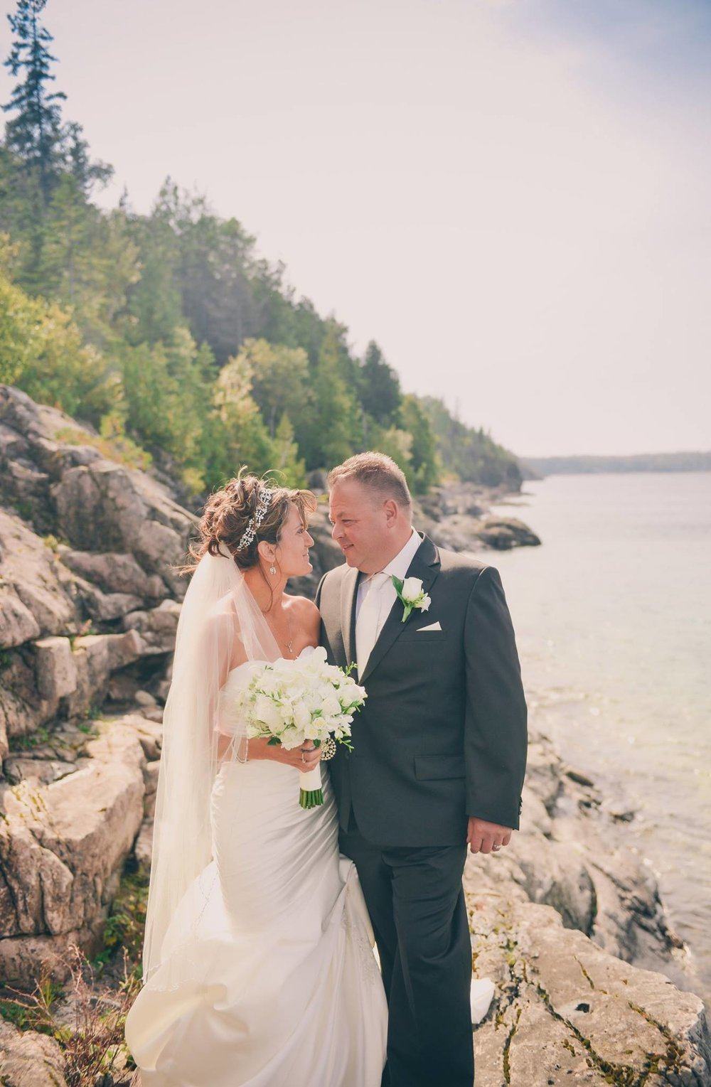 """From the first moment we met, there was a weight lifted off my shoulders. I had the vision, but with your unlimited skills and professionalism we couldn't have asked fro anyone better to pull things together and make it all happen. Your attention to every single detail was greatly appreciated. You are amazing at your job!      - Kelly & Jeff Georgian Bay, ON"