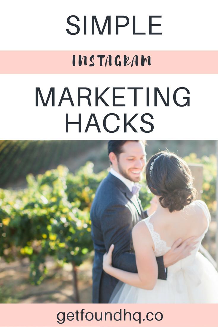 Simple instagram marketing hacks