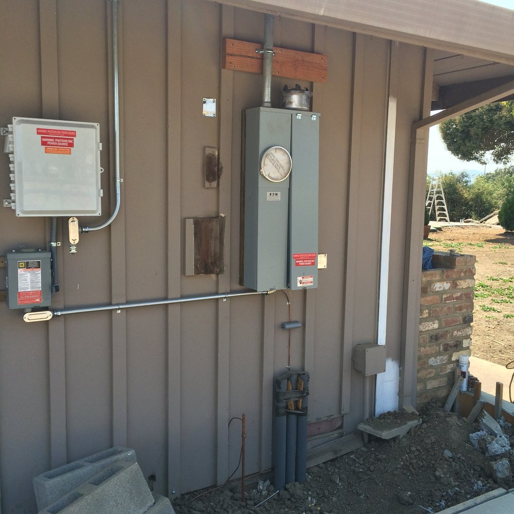 Panel Upgrade Before Meter Release