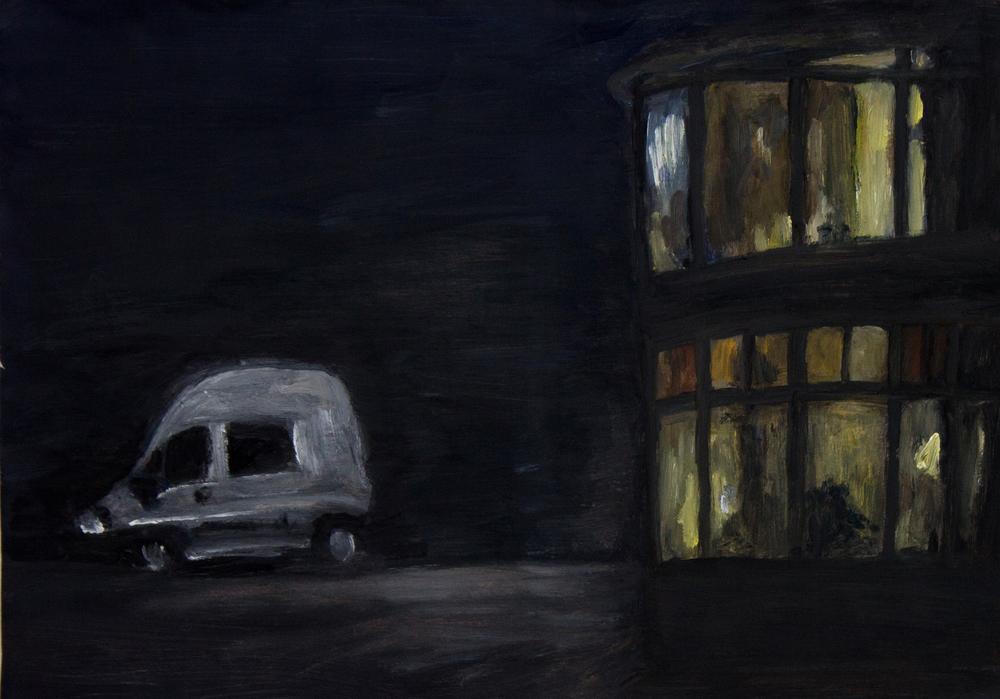 Nachtscène