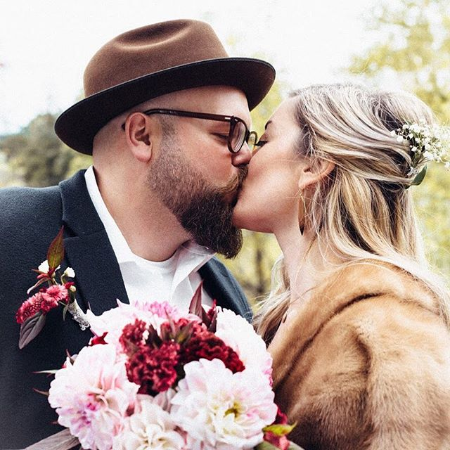 Sorry we've been off the grid from y'all. We've been busy GETTING MARRIED!!👰🏼🤵🏼 Who'd of thought that 5 1/2 years ago when I might this guy at open mic night we'd start a band, 2 businesses, travel the world, then tie the knot❤️ 9|29|18 BEST DAY EVER💏 📸: @cmhar