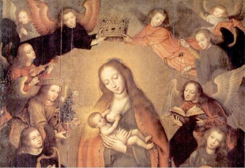 Virgen de Belen, by Marcellus Coffermans