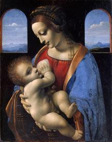 Madonna Litta, by Leonardo da Vinci