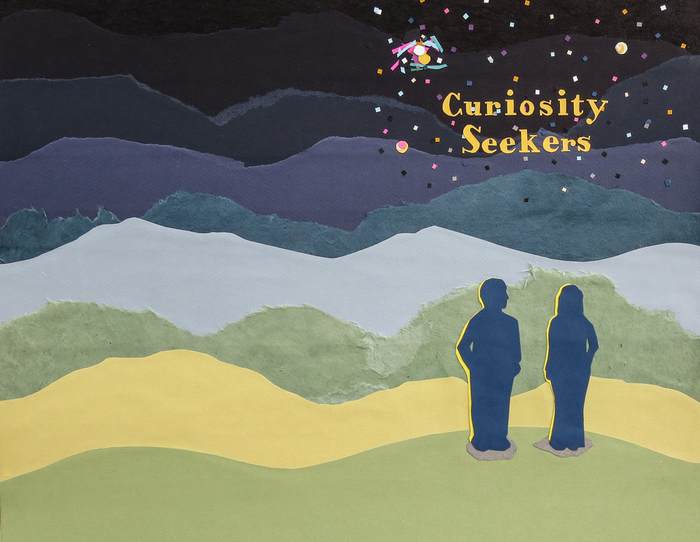 Cover design for Curiosity Seekers by Krista Dedrick Lai