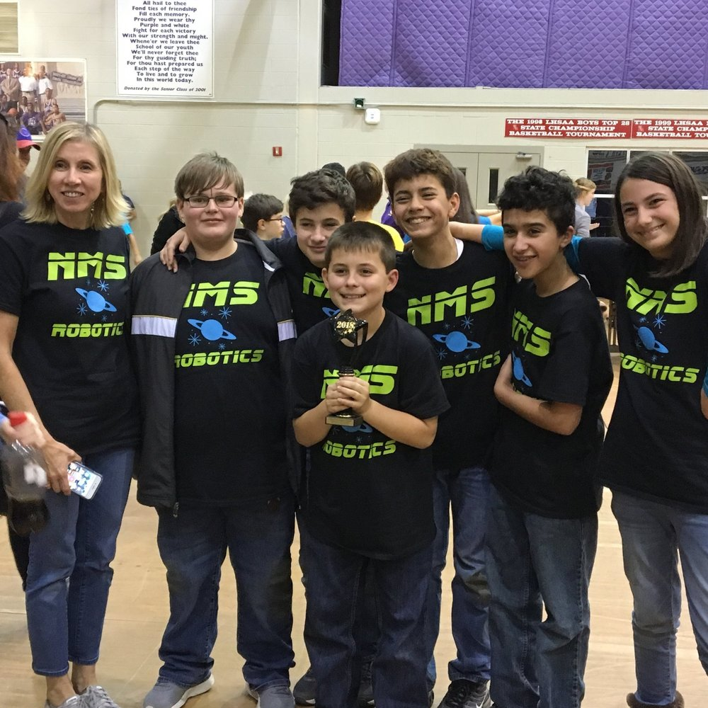 Nms Robotics Team Qualifies For State Competition Assumption