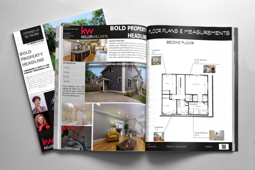 High quality printed marketing materials   From basic one page flyers to complete property marketing brochures and booklets, JS O'Connor Photography can design and print your marketing materials from concept to delivery.