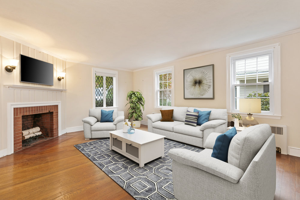 Virtual Staging   Add a sense of scale and design to an empty space with custom virtual staging at a fraction of the cost of renting physical furniture.