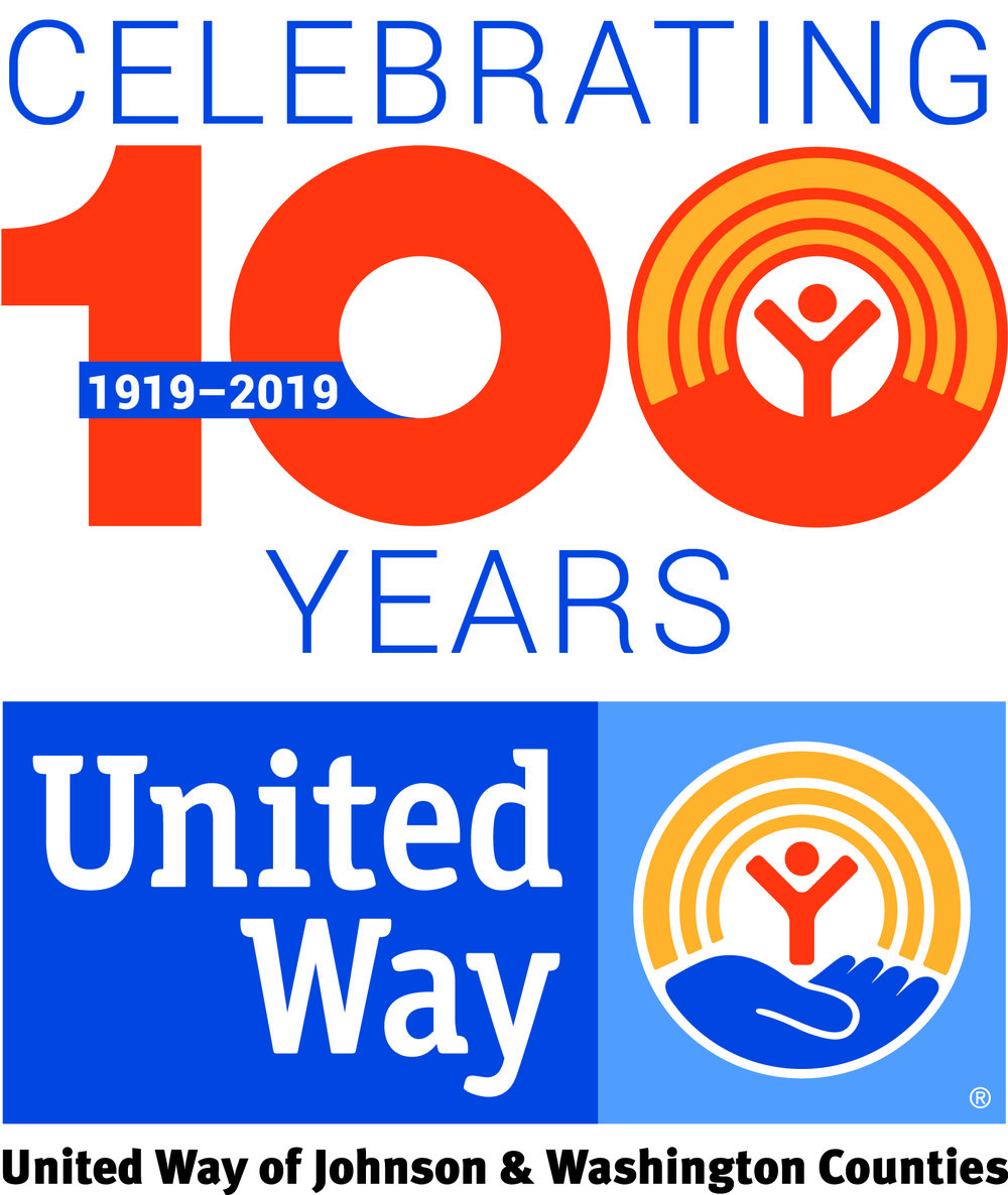 a proud partner of united way of johnson & washington counties