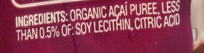 Not saying 0.5% of soy lecithin is terrible…but 0% is my fav.