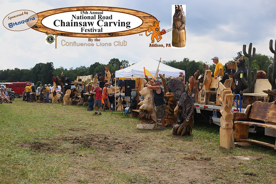 SOLD - CHAINSAW CARVING FESTIVAL AUCTION