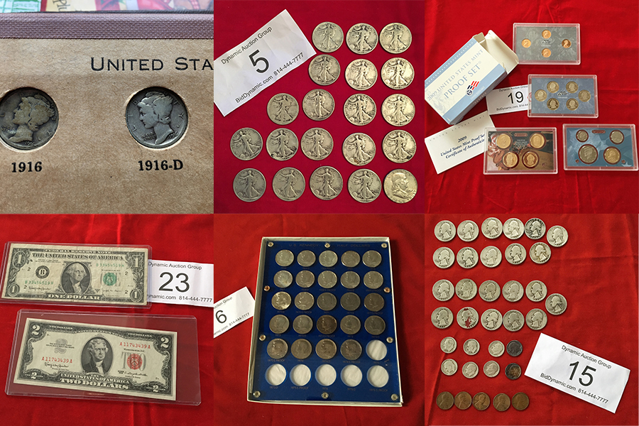 SOLD - SILVER & COIN ONLINE-ONLY AUCTION
