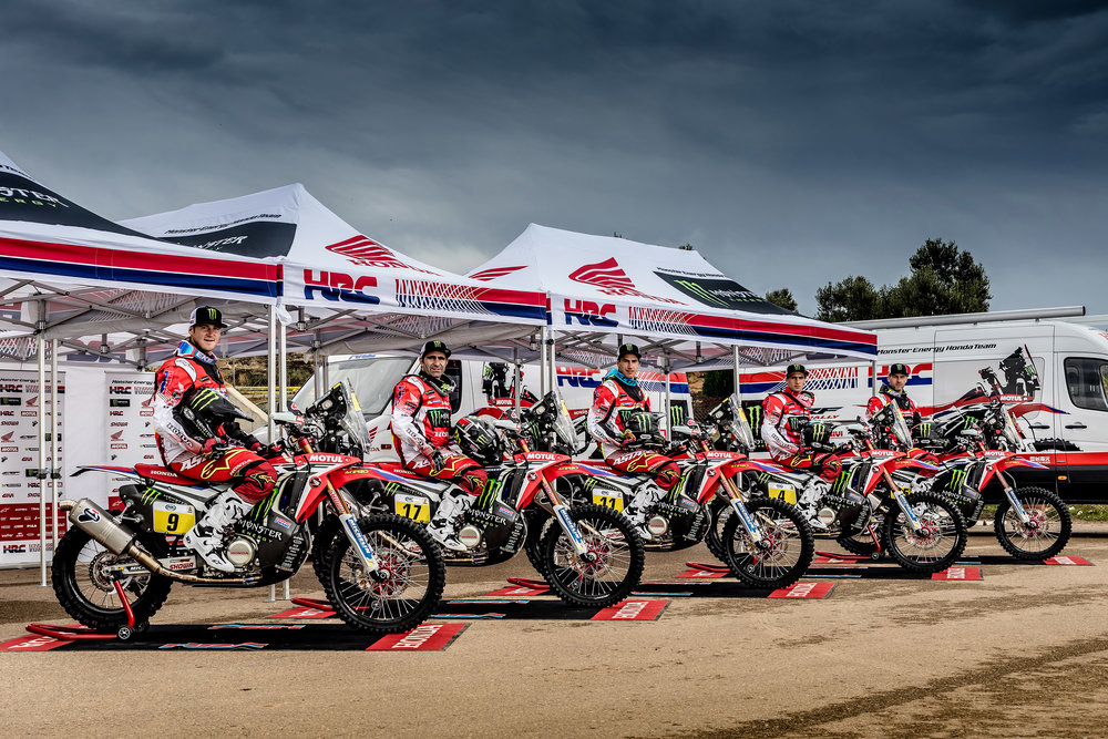 The Monster Energy Honda Team set for Rally Dakar 2017.jpg
