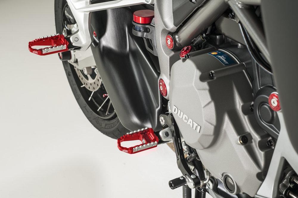 upshiftcnc racing announces new ducati multistrada enduro 1200