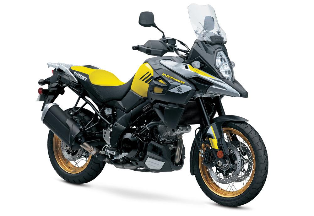 V-Strom 1000XT - Champion Yellow No. 2