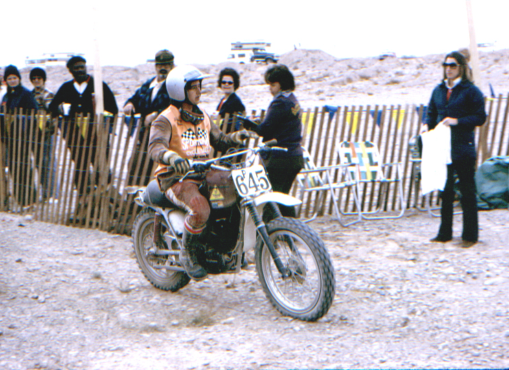 1973 Barstow to Vegas Hare and Hound 3rd overall 1st 250 Expert