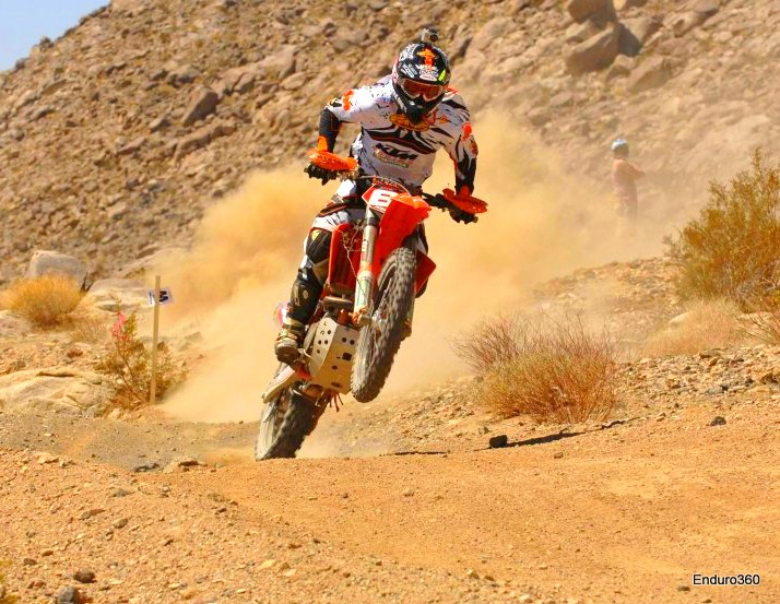 6. Kurt Caselli - Kurt was a product of D-37 desert as well and grew from #1 in the mini class to 3X consecutive AMA National H & H champion, to stage winner and evolving overall threat at Dakar. He was the outright winner at the Desafio Rally in Argentina, putting him on a very short list as the third American in history to ever win a raid rally overall. On any given Sunday from 2009-2014 he was the fastest man in the desert. Although Kurt only took home one overall in Baja(a rare BITD event) he elevated the sport there at a time when interest in Baja racing was waning and who knows what he would have accomplished had he been given more time. His accomplishments in other areas of the sport make him perhaps the best all around rider ever produced by the U.S. but his accomplishments in his beloved desert home put him sixth on my list. I have got to believe that somewhere right now Kurt is riding with Danny Hamel and his dad, Rich Caselli. God Speed Kurt!