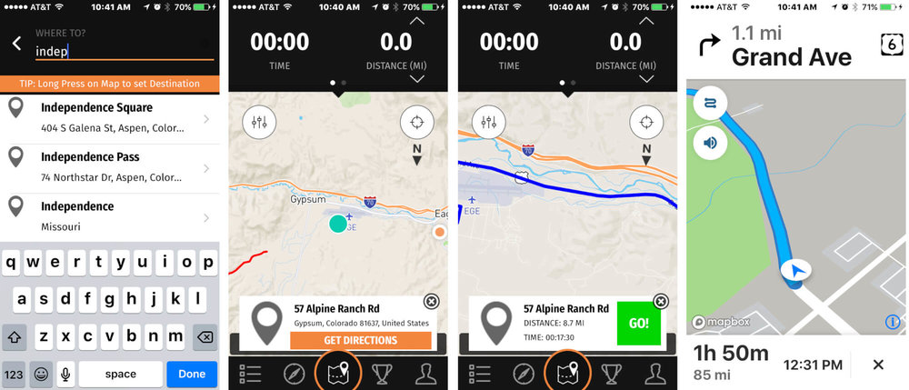 UPSHIFTNEW GEAR - REVER Turn by Turn and Voice Navigation is Here!