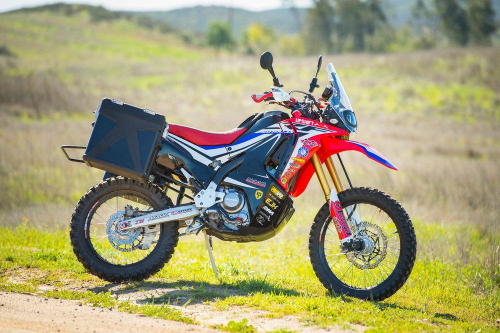 Upshiftims Honda Crf250l Rally Project Bike