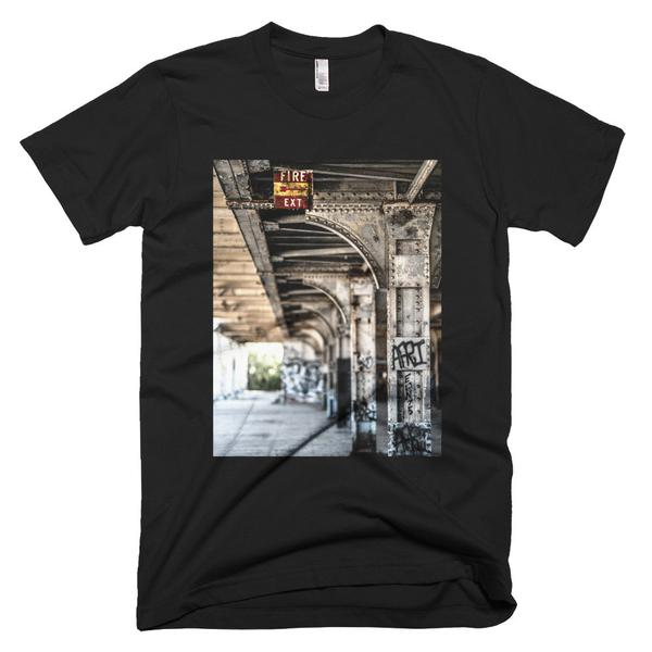 head for the exits t shirt