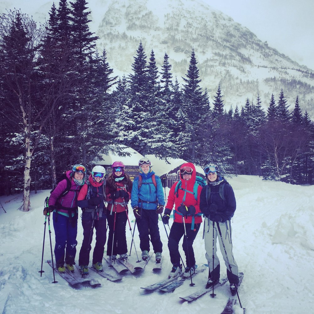 February 2017 Backcountry Skiing and Yoga Retreat!!!