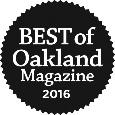 2015 + 2016 Awarded in Oakland!