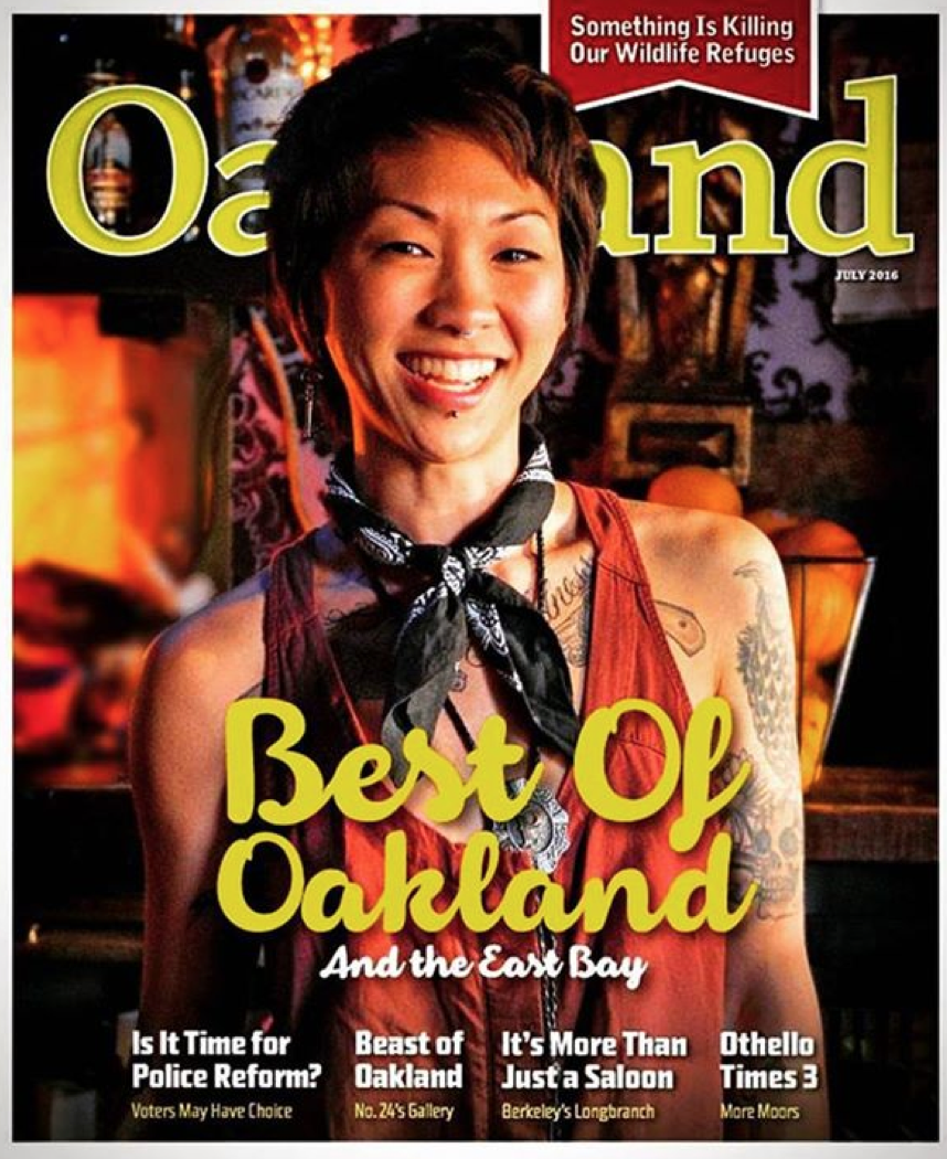 Oakland Magazine - Aug. 2016 issue