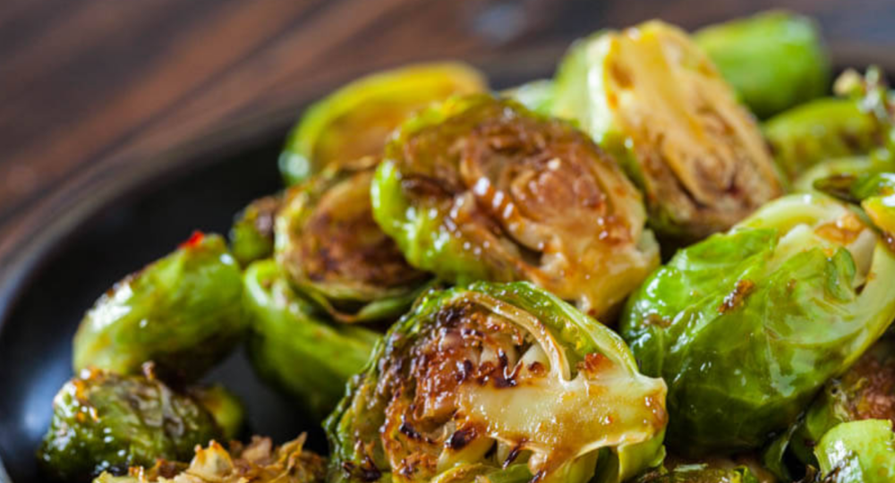 Roasted Brussel Sprouts - photo by Mama's High Strung blog
