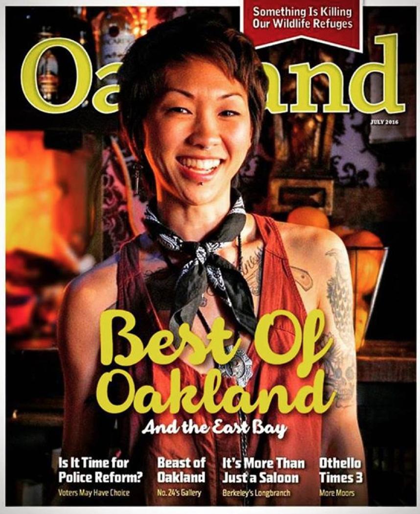 Awarded by Oakland Magazine
