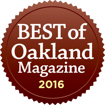 Best of Oakland Winner 2016