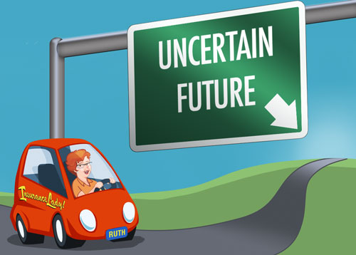 The future is uncertain... insurance can protect your most valuable assets!