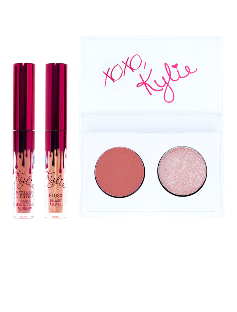 The winner will receive this kit from the Kylie Cosmetics Valentine's Collection 2017