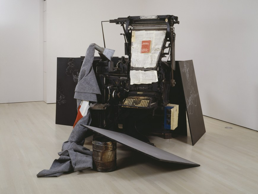 Helped implement and install the Matthew Barney / Joesph Beuys exhibit All in the Present Must Be Transformed as assistant to the Chief Conservator of the Peggy Guggenheim Collection Paul Schwartzbaum (while tangentially ghost writing his memoirs).
