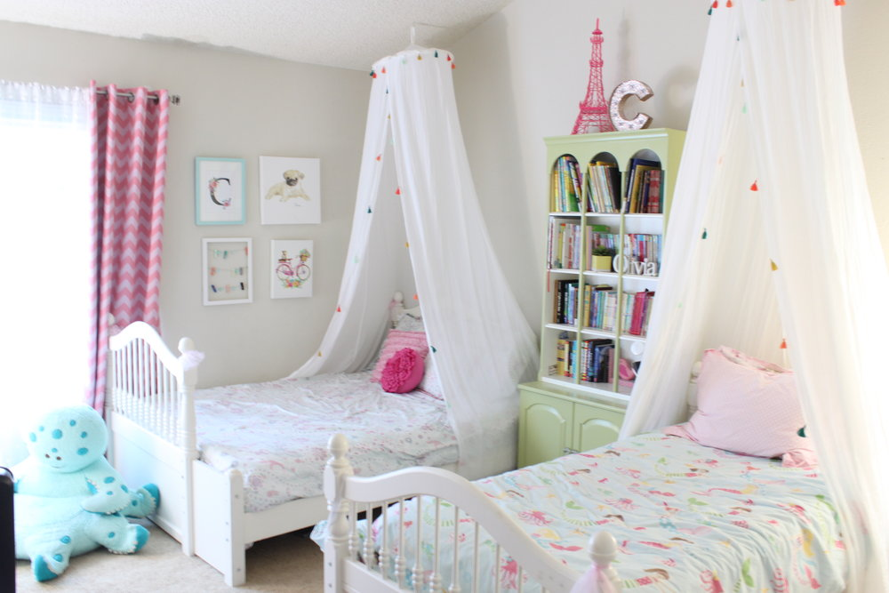 Dreamy girls bedroom