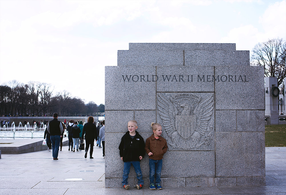I remember when this memorial was first built. I remember visiting it with my grandmother, grandfather and mom. The solemn feeling didn't change. Even the kids picked up on it. I am so thankful to live so close to an area full of so much history. my hope is that my kids don't take it for granted like I have.