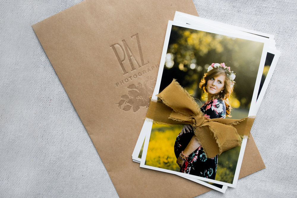 Floral Crown in Image :  B. Anderson Floral Designs       Silk Ribbon:  Tono + Co     Printed Envelope:  Dinglewood Design & Press