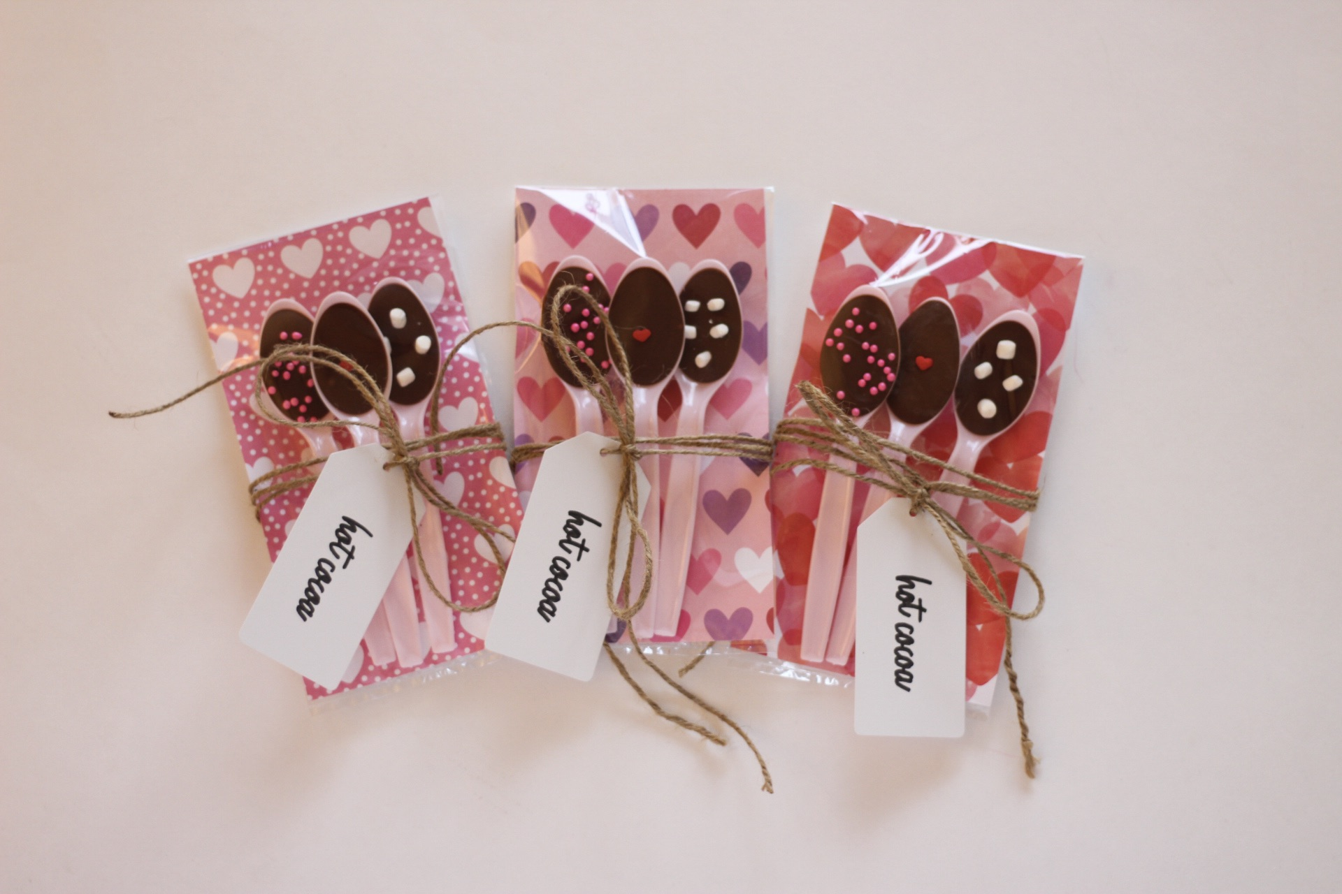 DIY Hot Cocoa Valentines — Clocking Out