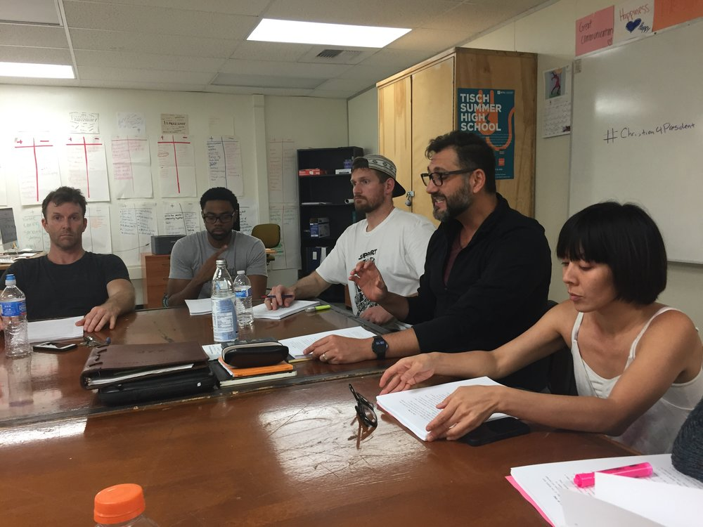 "June 13th, 2016 - ""Ajax in Iraq"" First Read-Through"