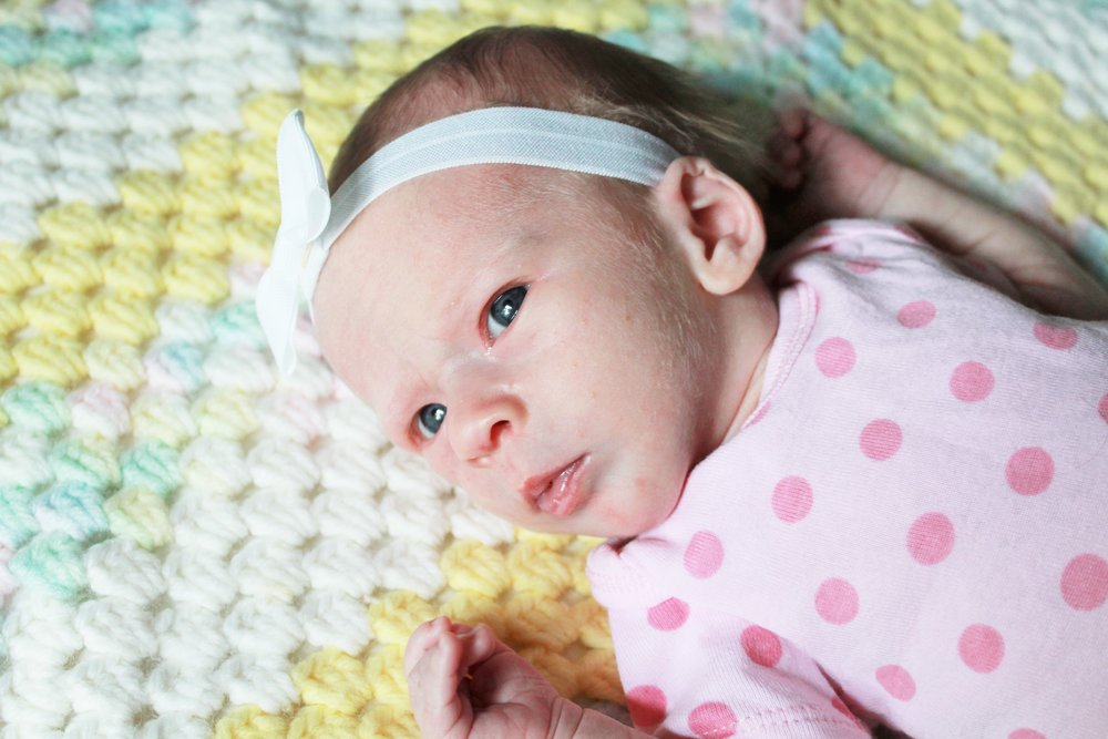 Addilyn's first month picture