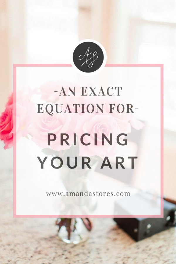 how-to-price-your-artwork-equation