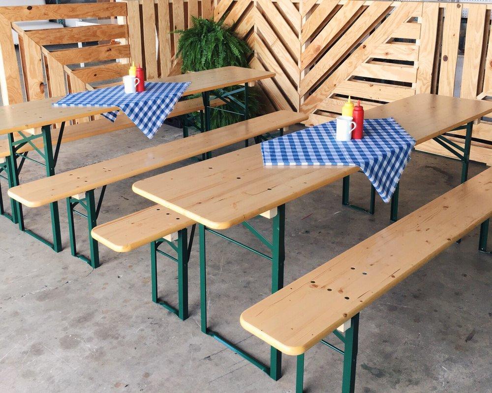 Beer Garden Table Set