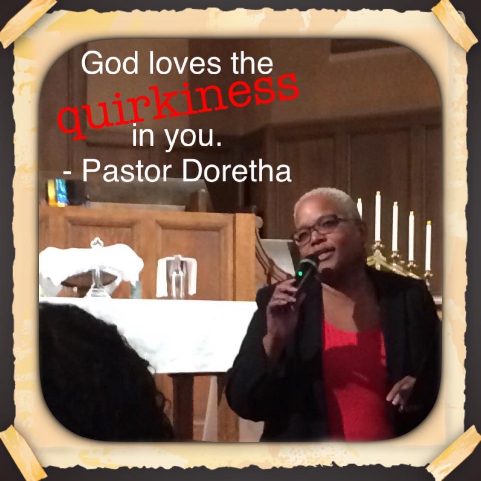 REVERAND DORETHA WILLIAMS-FLOURNOY Sr. Pastor -pastor@achurchforall.org