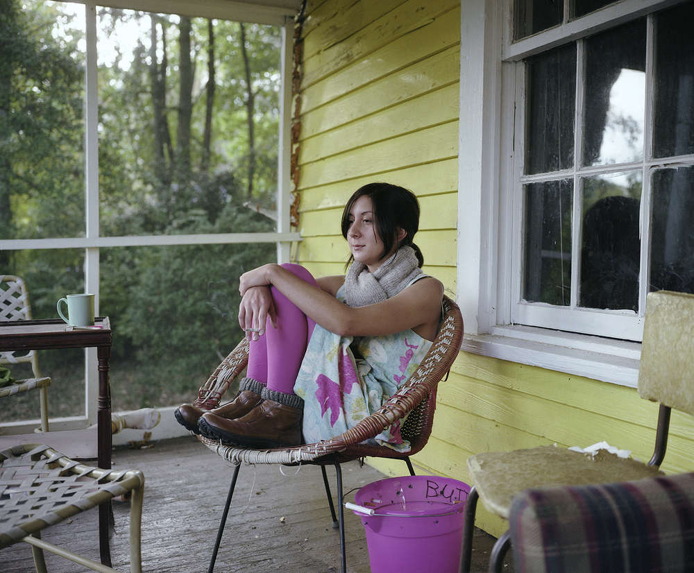 Micki on her Porch, 2006
