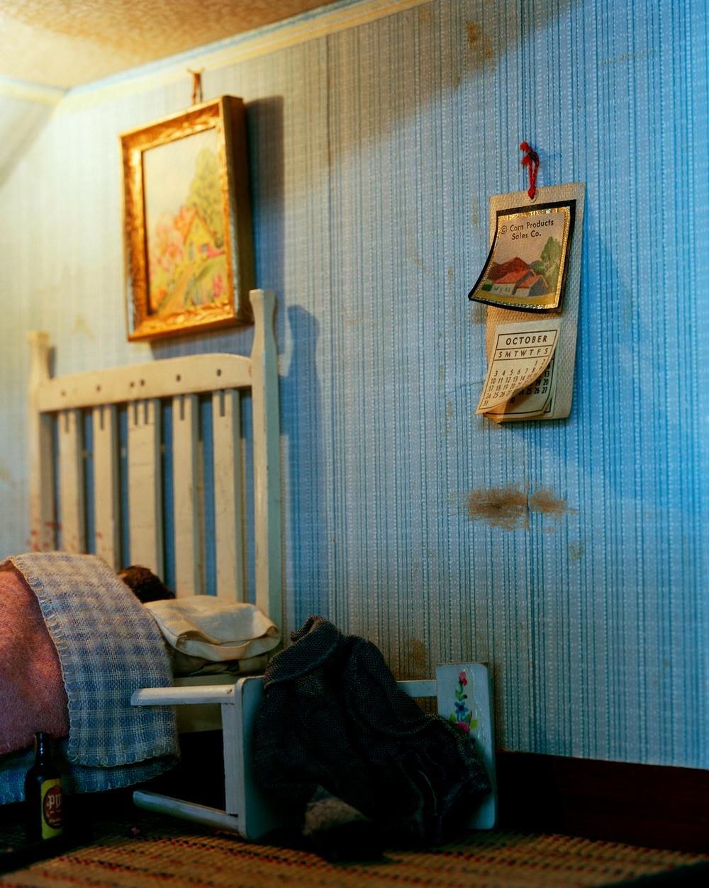 Blue Bedroom (man)