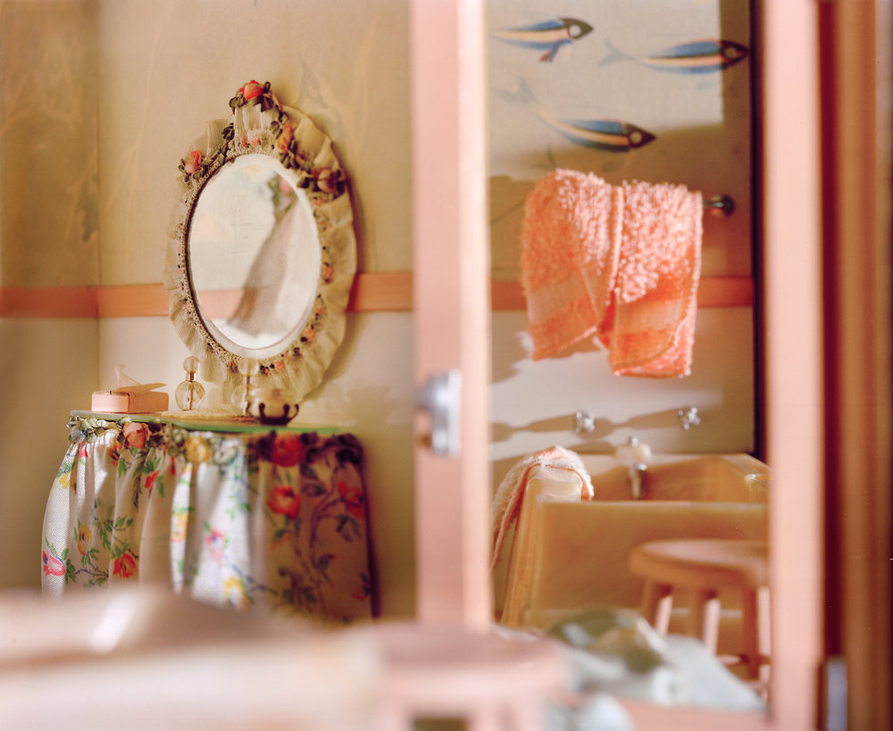 Pink Bathroom (vanity)