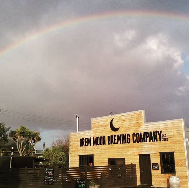 At the Brew Moon we ignore the rain and look for the rainbow. Happy Thursday everyone!