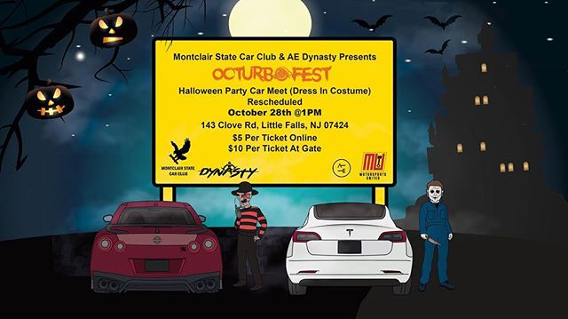 Booooooo 👻, TODAY IS THE DAY‼️ @aedynasty x @montclair_state_car_club Presents OcturboFest. A trunk or treat Halloween party car meet 🎃🎃🎃🔥🔥🔥😈. 100% of proceeds will be donated to Real House Inc, an organization in Montclair, NJ that provides temporary homeless housing & treatment for substance abuse. #GearheadsGiveBack 🙏🏼. I➖➖➖➖➖➖➖➖➖➖➖➖➖➖➖➖➖ #autoetiquette #Dynastycrew #staticstruggle #DrivenByUnity #Cambergang #Slammed #stancenation #foreverslammed #canibeat #freshmeet #ProperFitment #SuperStreet #SpeedHunters #StanceNation #StanceWorks #LoweredLifestyle #Dapper #LoweredStandards #Stance_Daily