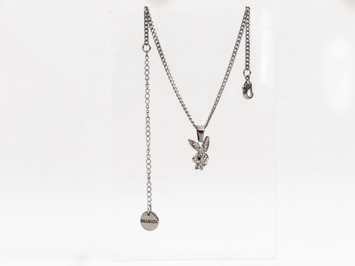 The dainty playboy bunny necklacechoker dalmata the dainty playboy bunny necklacechoker aloadofball Image collections